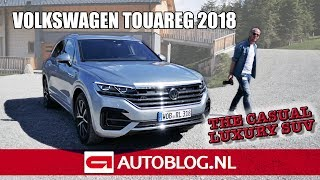 2018 Volkswagen Touareg rijtest