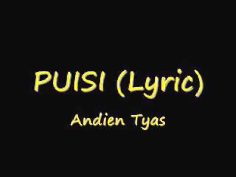 Andien Tyas - Puisi Lirik ( lyric karaoke )