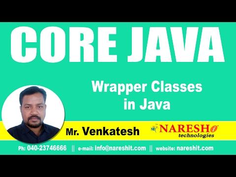 Wrapper Classes in Java | Core Java Tutorial