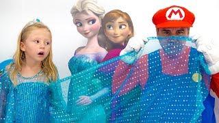 Stacy y su nueva habitación al estilo de la princesa Elsa