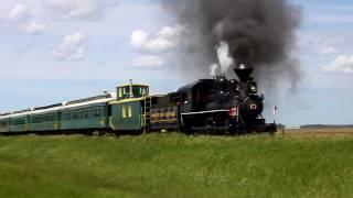 Prairie Dog Central Train En Route To Winnipeg 2011/07/01