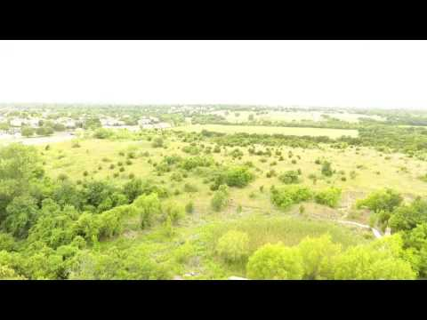 Drone flight at the Southwestern Ecolab
