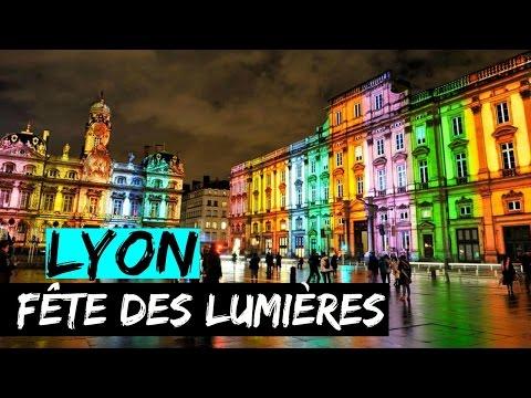 3 Minutes pour découvrir la Fête des Lumière | LYON - 2016 #DISCOVER