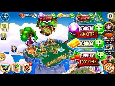 Bạn Sẽ Nạp 2K Gems Lậu Hay Hack 9999+ Gems ? || Vũ Liz Dragon City