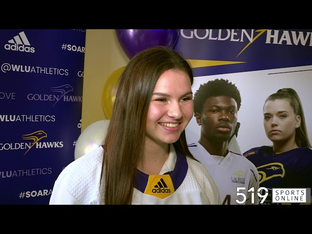 Waterloo's Sarah Bestic commits to the Laurier Golden Hawks