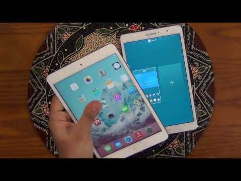 iPad Mini 2 (Retina Display) vs Samsung Galaxy Tab Pro 8.4 Full Comparison