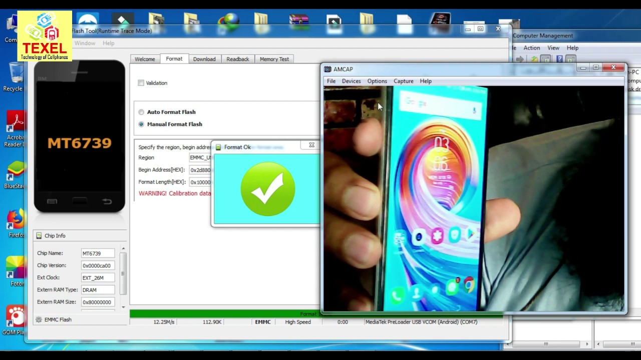 Tecno camon isky (IN2) FRP Unlock without box | SP Flash Tools Method |  MT6739
