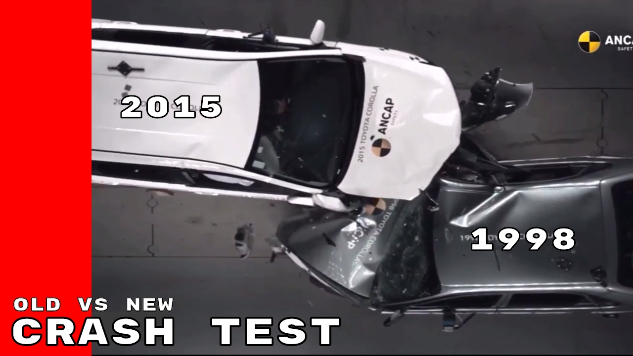 Old Car Crash Test