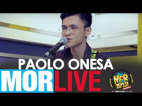 MOR Live: Paolo Onesa with
