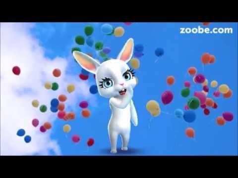 Zoobe Зайка С днем рождения (девушке)! - Как поздравить с Днем Рождения