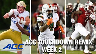 2020 ACC Touchdown Remix: Week 2