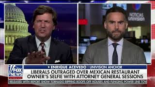 Tucker Carlson claims tacos are 'American food'