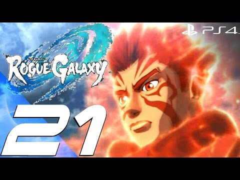 Rogue Galaxy PS4 - Gameplay Walkthrough Part 21 - Beast Seed Boss & Eden Puzzle [1080p 60fps]