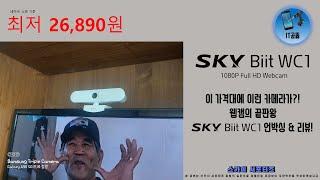 [4K] 갓성비 웹캠의 끝판왕, 스카이 비트 WC1 언…