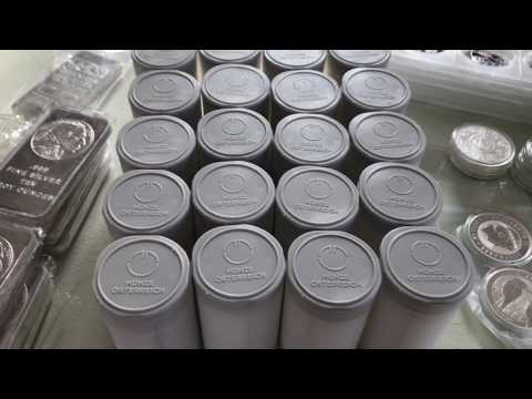 Full Silver & Gold Stack 1395oz Silver & 7.77oz Gold