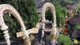 Upacara Piodalan Ring Pura Penataran Agung Baturning Oktober 2016