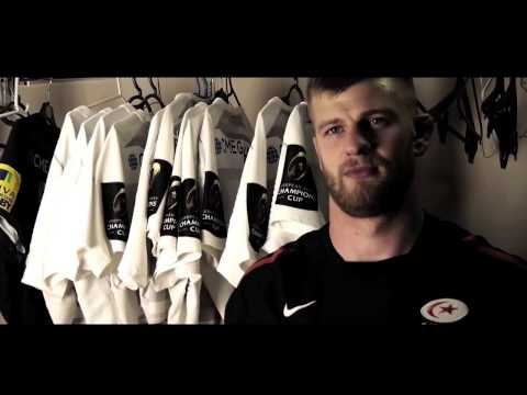 In the kit room: George Kruis