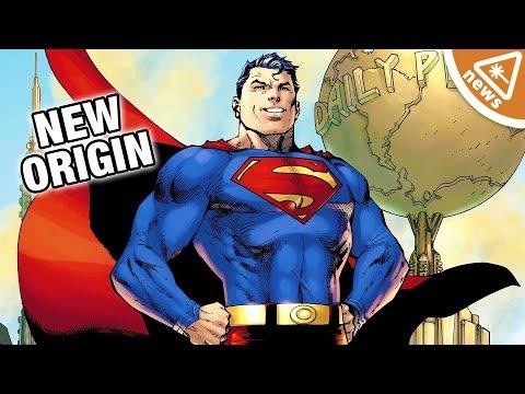 How Superman's Origin Has Been Retconned! (Nerdist News w/ Jessica Chobot)