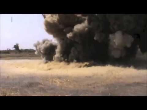 DIGGER DTR Demining Mali Anti Tank mine explosion survivability test
