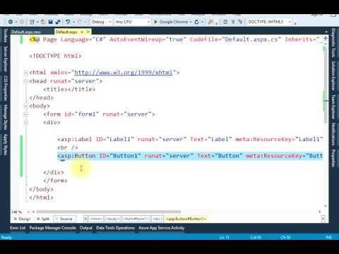 ASP.NET Localization