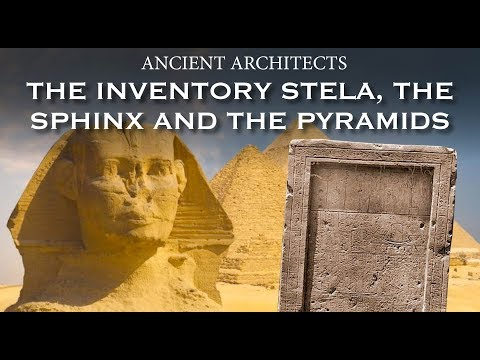 The Inventory Stela, the Sphinx and the Great Pyramid | Anci
