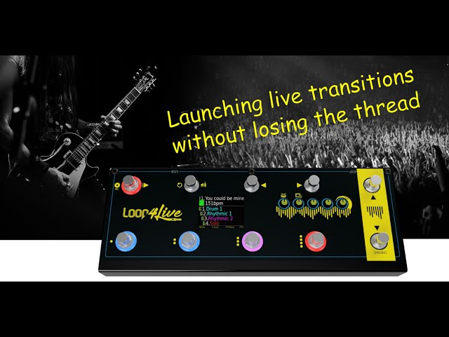 Launching transitions through the Loop4live