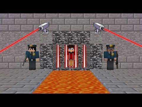 EN GÜVENLİ HAPİSHANEDEN KAÇIŞ! 😱 - Minecraft