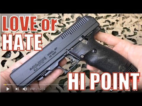 Hi-Point JCP .40 S&W Pistol - Love it or Hate it?