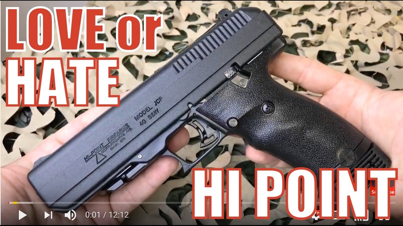 Hi-Point JCP  40 S&W Pistol - Love it or Hate it?