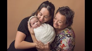 Newborn Session Video Making Of-Baby Brielle