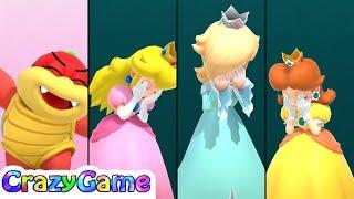Super Mario Party - King Bob-omb's Powderkeg Mine (20 Turn) Gameplay