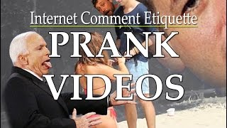 Commenting on Prank Videos thumbnail