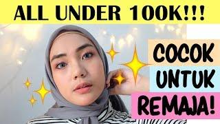EMINA MAKEUP TUTORIAL + REVIEW | Tutorial Makeup Natural Remaja | Low Budget Makeup | raniekarina