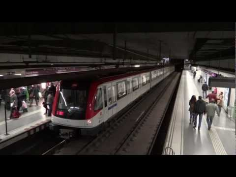 Barcelona, Spain - Various Metro Stations HD (2013)