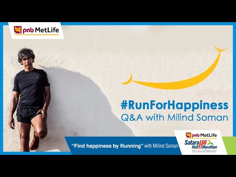 #RunForHappiness Q&A with Milind Soman