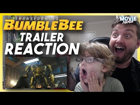 Bumblebee (2018) - Official Teaser Trailer REACTION!!