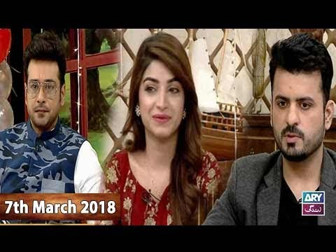 Salam Zindagi With Faysal Qureshi - Kinza Hashmi & Waseem Tirmzi - 7th March 2018