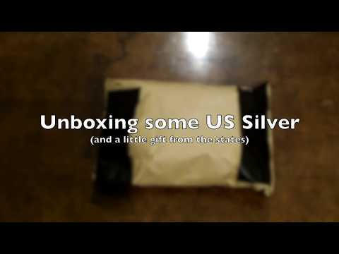 Unboxing Video: US Silver Coins