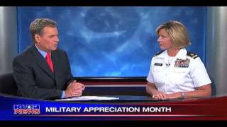 "Amy Forsythe is a guest on ""San Diego People"" on KUSI May 15, 2011 - Part I"