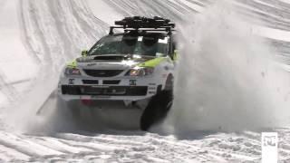 Машина-снегоход(Интересное видео с участием автомобиля Subaru, переделанного под снегоход! - http://hakkinen.ru., 2010-07-14T16:25:41.000Z)