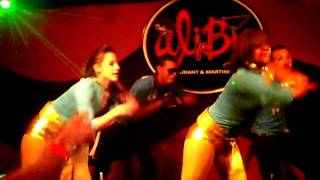 d4l dance crew switch opening show 4 dj wi wi 2nd annvsary at club alibi 06 17 11