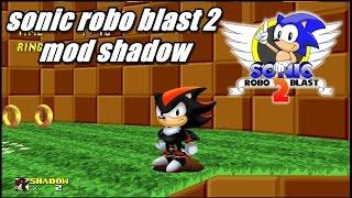 Gambar cover Sonic robo blast 2 mod shadow #1 classic shadow