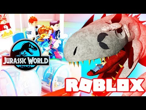 JURASSIC WORLD TOUR WITH BUDDIES (GONE WRONG) SNEAK INTO REX CAGE - Roblox Channel,Role-playing Game