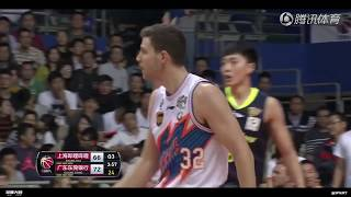 Nov 2, 2017 | Jimmer Fredette HIGHLIGHTS vs. Guangdong (33pts, 7ast)