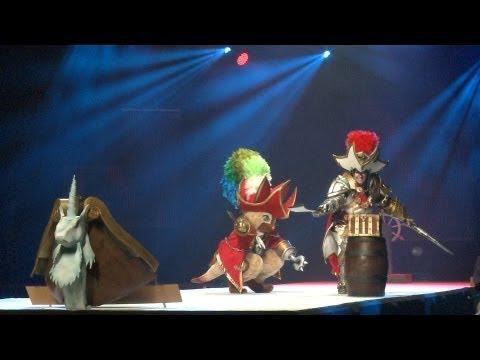ECG European cosplay 2013 finals @ Japan expo Winner group : FRANCE