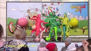 Смотреть видео XXVМФУТ.Театр мыльных пузырей Adamovich Bubble Company (РОССИЯ)(25.06 -18.00) онлайн