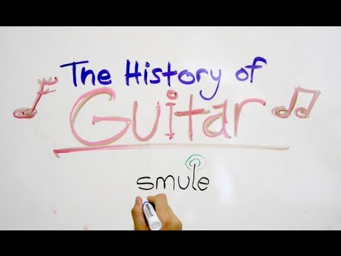 Smule | The History of Guitar!