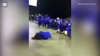 Failed Back Flip At Warren Township High School Graduation Class of 2017
