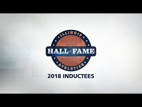 Illinois Athletics Hall of Fame | Class of 2018