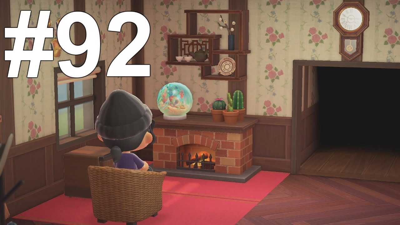 Making a Living room! Animal Crossing New Horizons! - YouTube on Animal Crossing Living Room Ideas New Horizons  id=47581